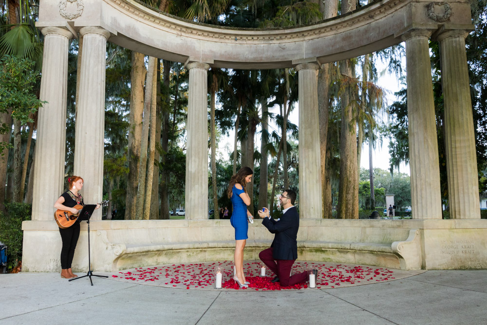 Kraft Azalea Proposal | Winter Park Engagement