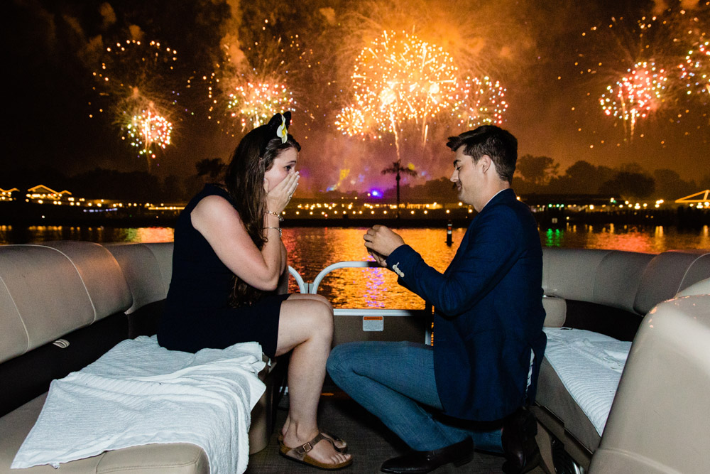 Disney World Fireworks Cruise Proposal