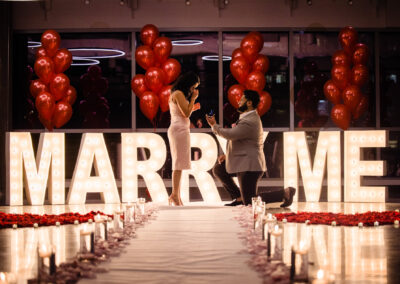 Balcony Orlando Marriage Proposal in Downtown Orlando