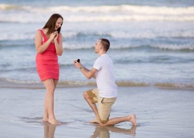 Orlando Surprise Marriage Proposal Photographer