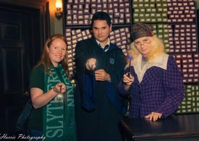 Orlando Surprise Proposal Photographer Wizarding World of Harry Potter