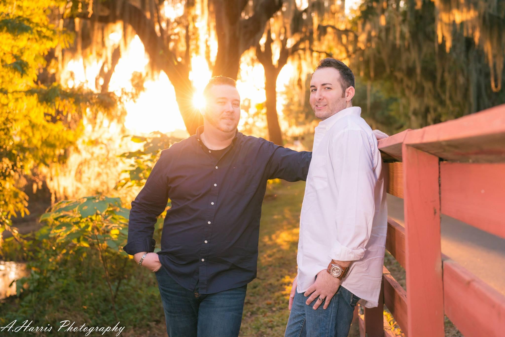 Orlando Wedding Photography Gay Engagement