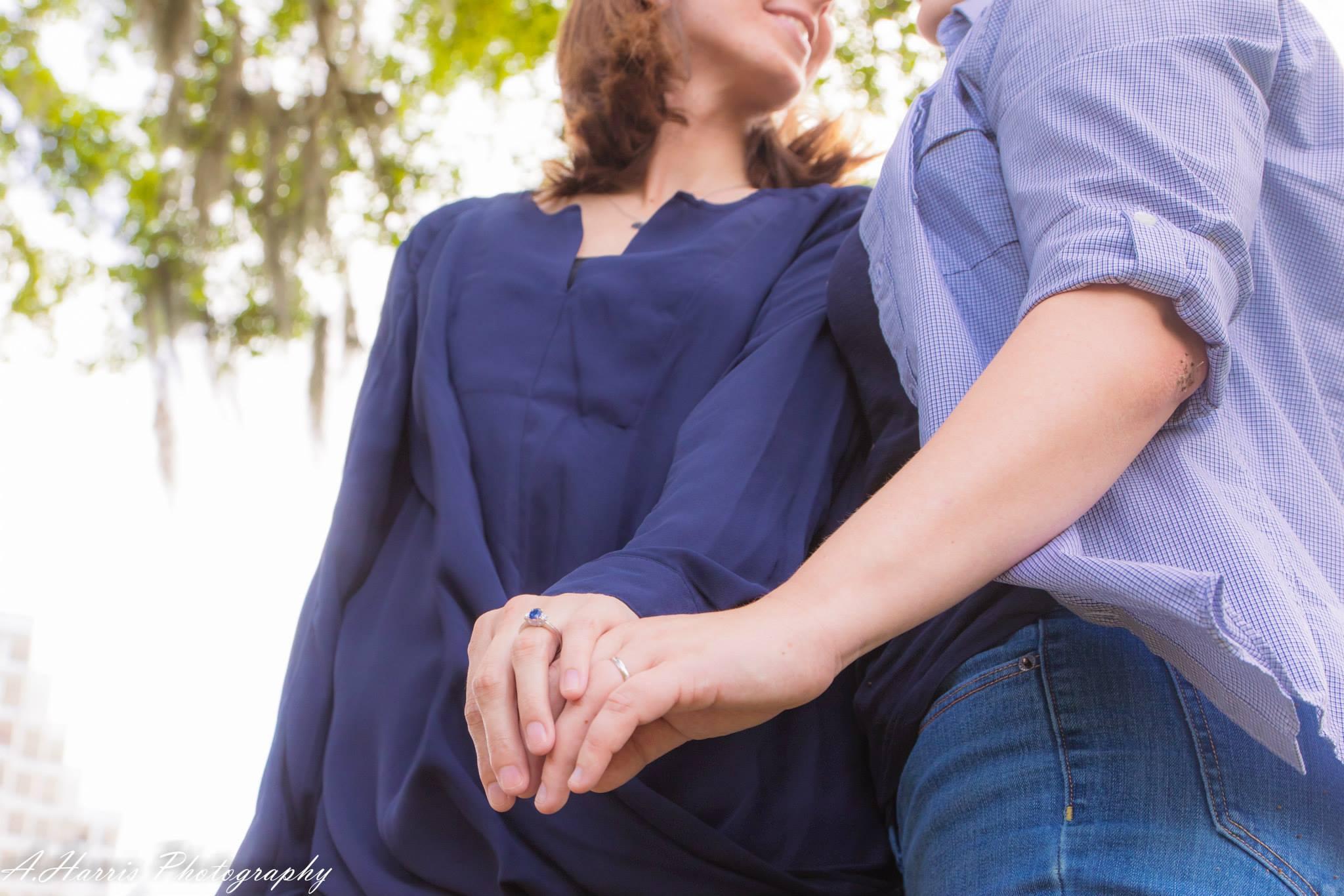 LLake Eola Orlando Florida Lesbian Engagement