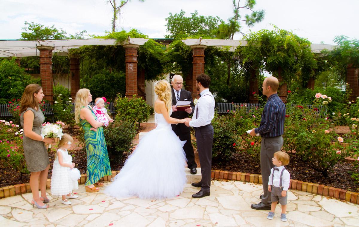 Orlando Wedding Photographer Rose Garden Winter Park