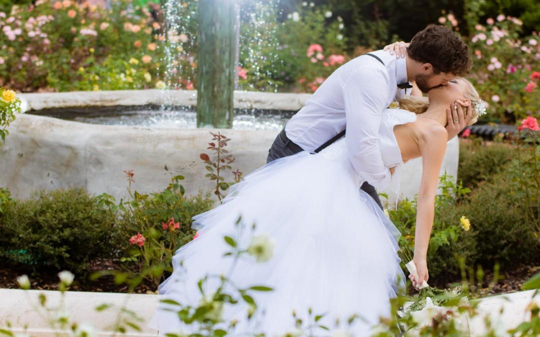 Winter Park Rose Garden Wedding