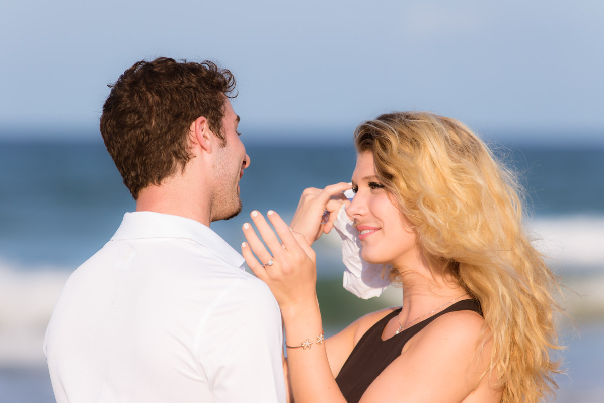 New Smyrna Beach Marriage Proposal