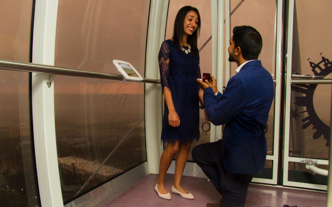 Orlando Eye Marriage Proposal