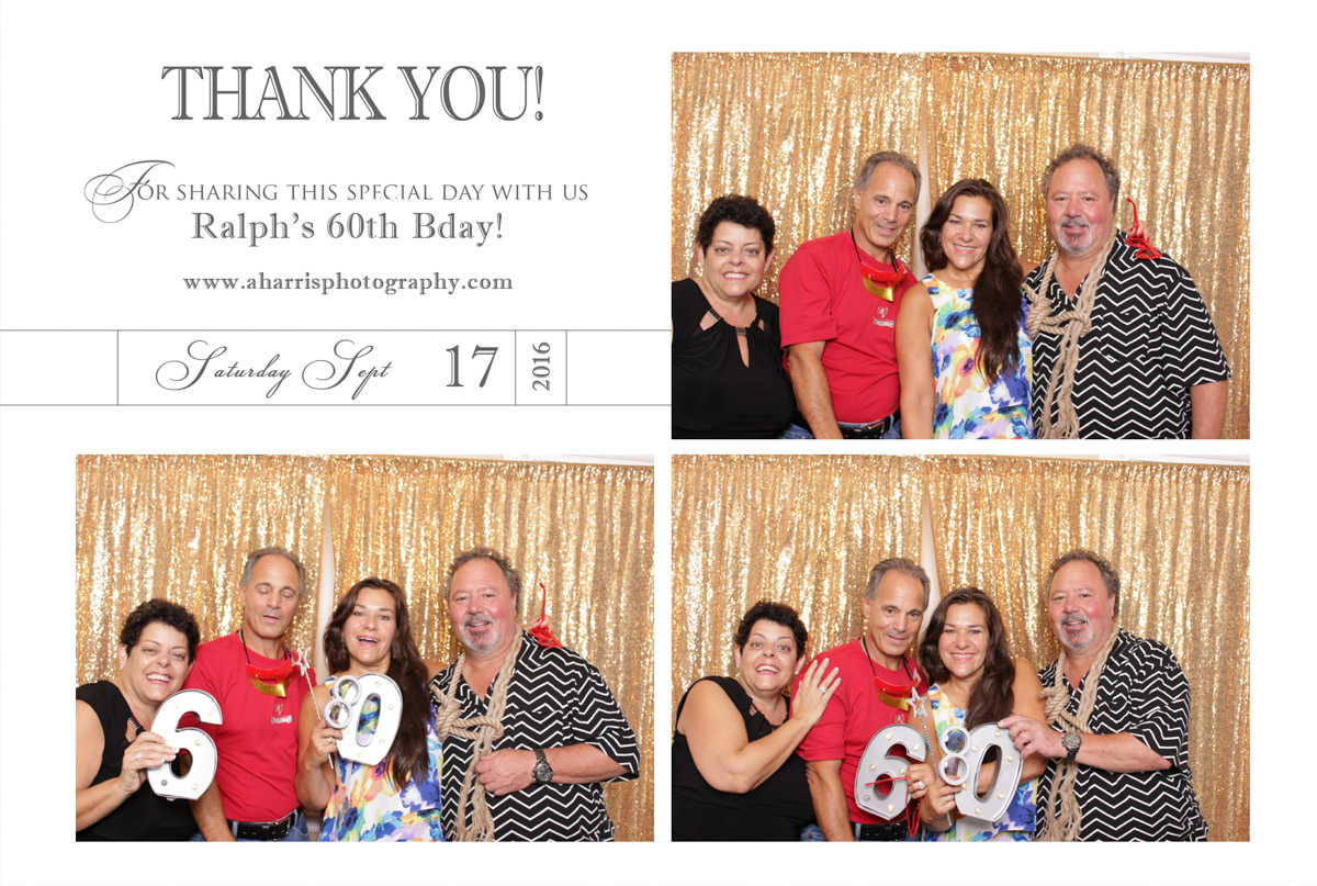 Ralph's 60th Bday Photo Booth