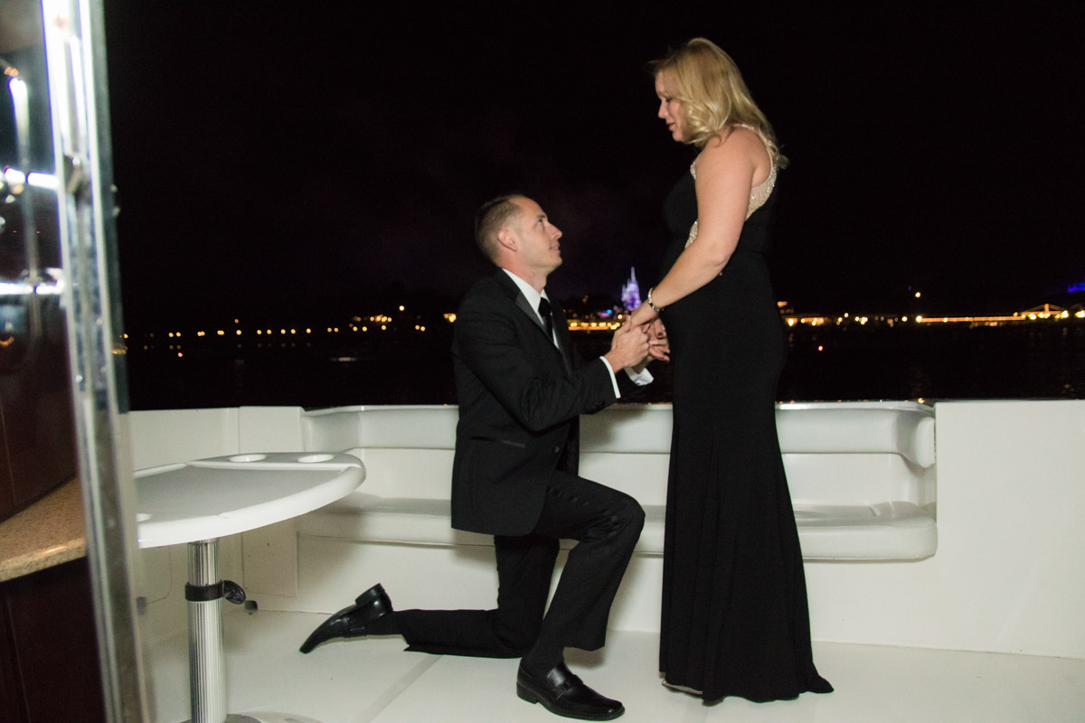 Disney Magic Kingdom Fireworks Marriage Proposal