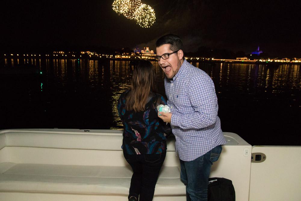 Disney Fireworks Marriage Proposal