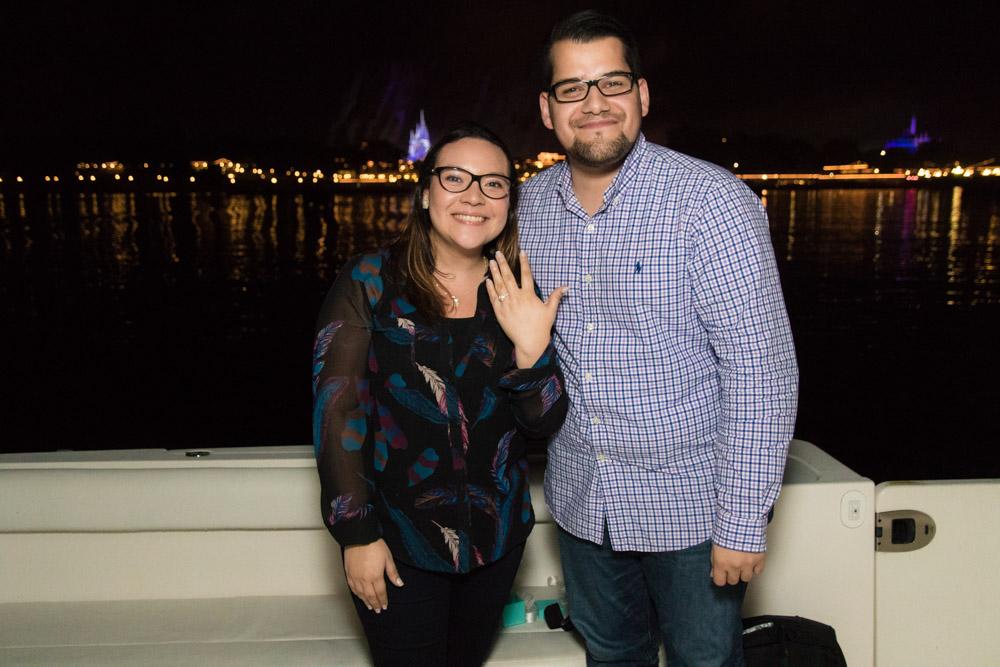 Disney Yacht Fireworks Marriage Proposal