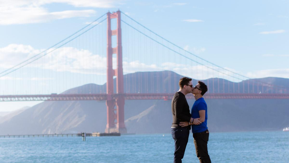 Crissy Field San Francisco Engagement