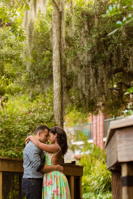 Disney Wilderness Lodge Engagement
