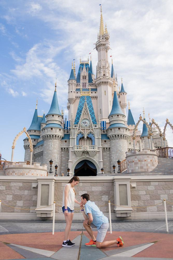 Magic Kingdom marriage proposal