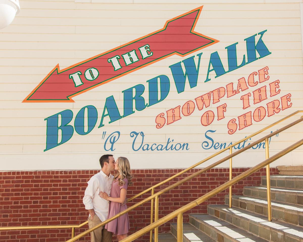 Disney Boardwalk Engagement