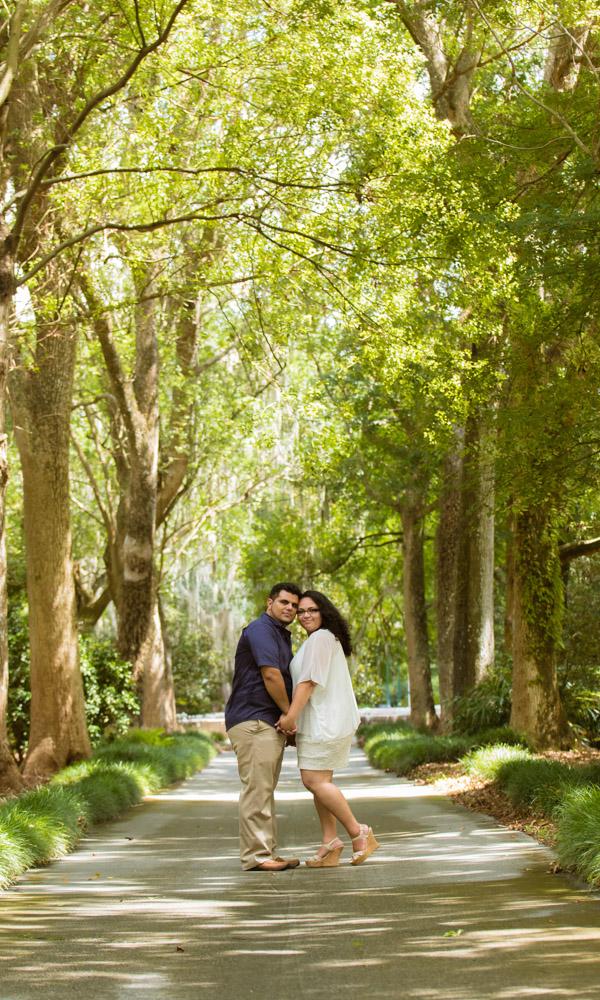 Orlando Engagement Photographer Leu Gardens