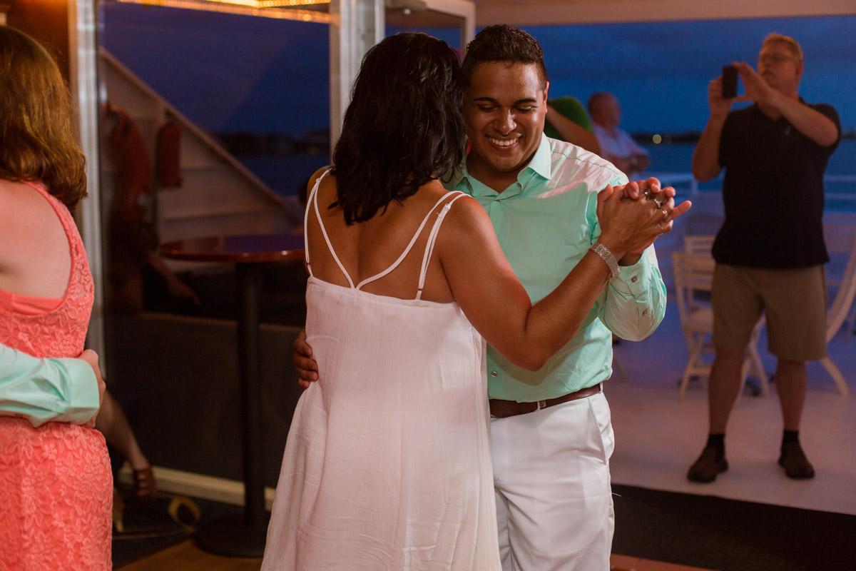 Yacht Starship Tampa Wedding