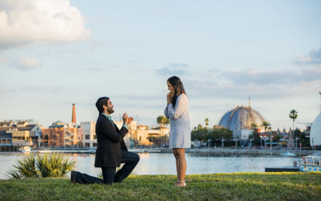 Disney Proposal Photographer | Disney Springs Proposal
