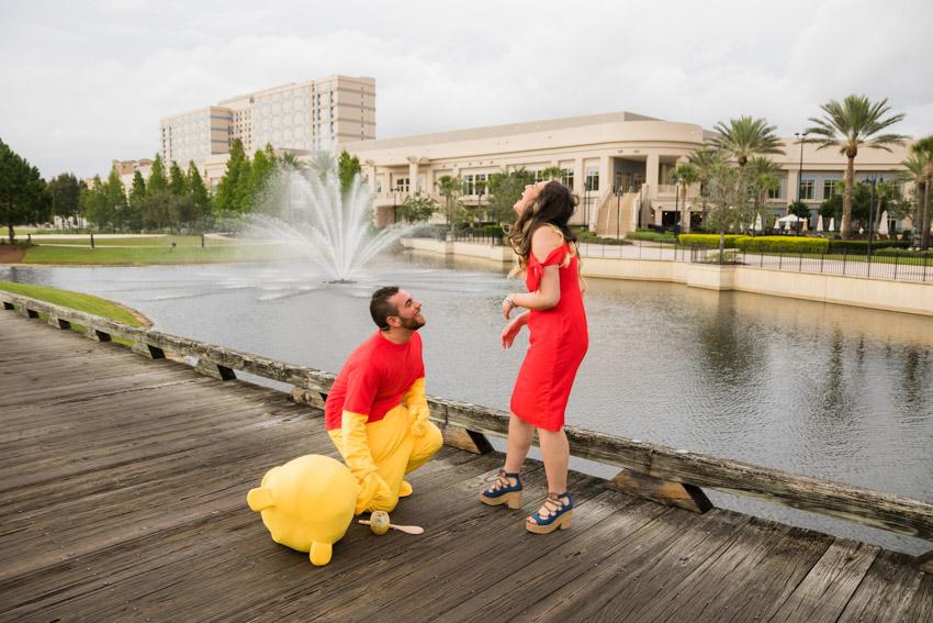 Waldorf Astoria Proposal | Disney Proposal Photographer