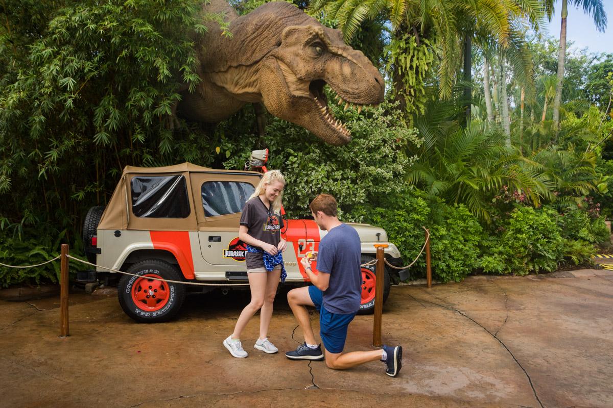 Jurassic Park Universal Proposal