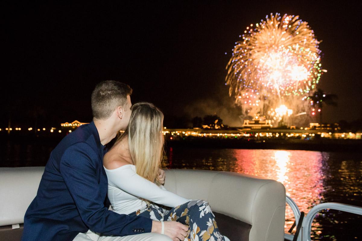 Disney Fireworks Cruise Marriage Proposal