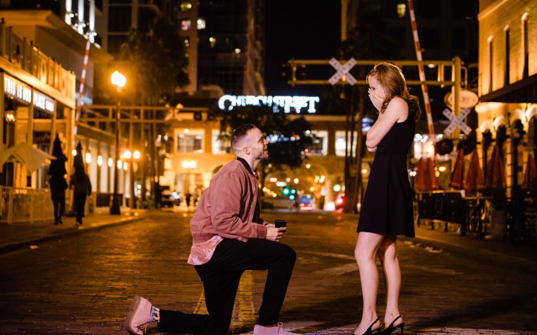 Downtown Orlando Proposal | Church Street Ceviche