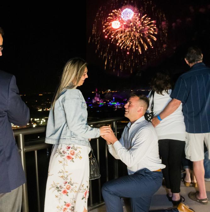 Disney California Grill Proposal | Disney Fireworks Proposal
