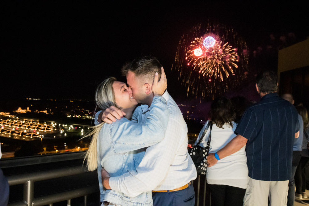 Disney Fireworks Proposal